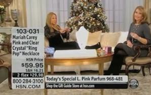 Mariah Carey Takes Over HSN, Talks Pregnancy andNonsense