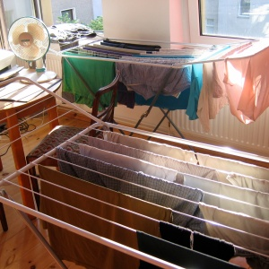 Why Germans Hang Their Socks to Dry