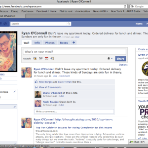 A Look At The New Facebook Profile