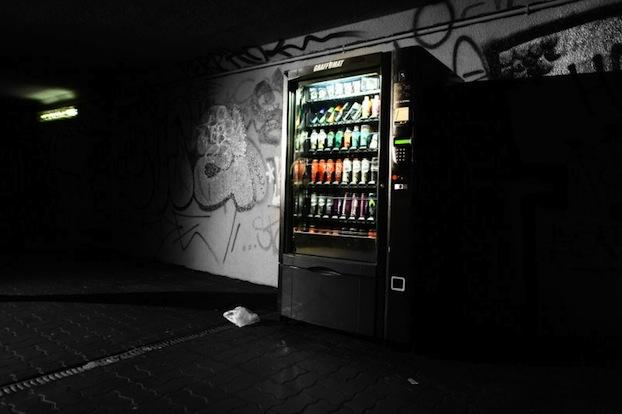 'The Graffomat' Graffiti Vending Machine Hoax (OrNot)
