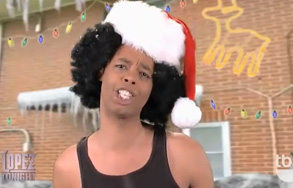 "Antoine Dodson Performs Christmas-themed Rendition of ""Bed Intruder"""