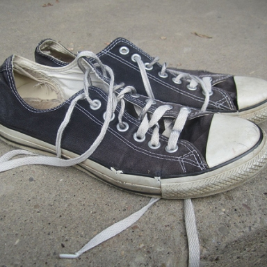 Eulogy For A Pair of Chuck Taylors (2003-2011)