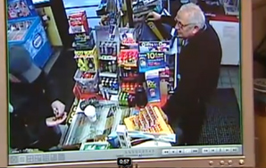Super Polite Robber Caught On Video