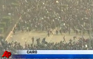 Mubarak Announces That He Won't Seek Reelection, Then Sends in Thugs to Deal With Protesters