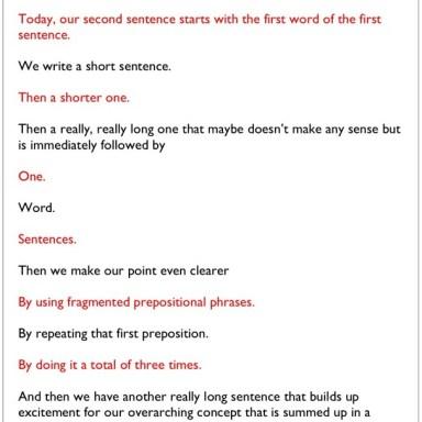 How to Write A Company Manifesto