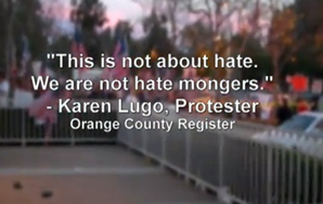 Anti-Muslim Protesters Chant Hate At Fundraising Event