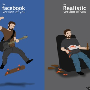 The Facebook You Vs. The Real You
