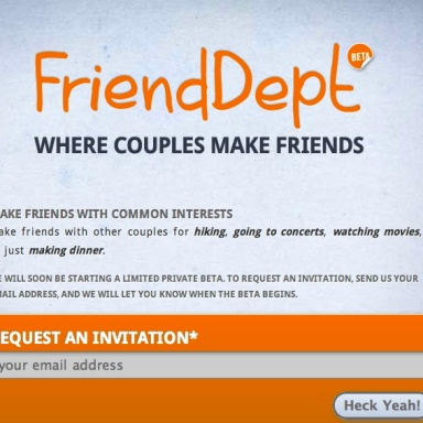 New Internet Startup Promises To Find Friends For Alienated Couples