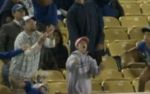 Best Dad In The World Drops Daughter To Catch Foul Ball