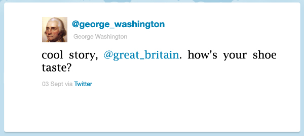 Some Tweets From US Presidents, If They Had Twitter Then