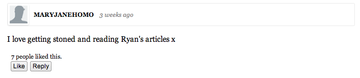 Top 10 Thought Catalog Comments For The Month OfMarch