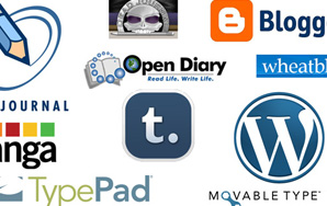 "Review of Ten ""Blogging Platforms"""