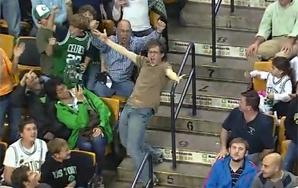 Sports Fan Goes Insane at Basketball Game, is Strangely Endearing