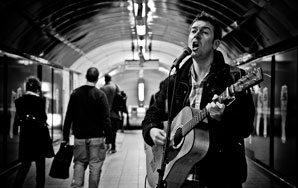 The Buskers Of London's Underground Music Scene