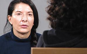 """Marina Abramović, """"The Staring Woman at MoMA"""""""