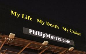 """Phillip Morris: """"My Life, My Death, My Choice"""""""