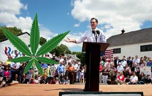 Why Mitt Romney Should Become The MarijuanaCandidate