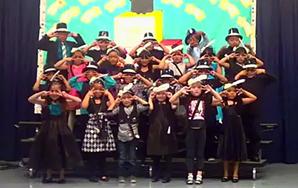 "Fabulous Kindergarten Class Performs ""Vogue"""
