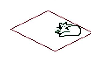 8-Bit Cartoon: Cat