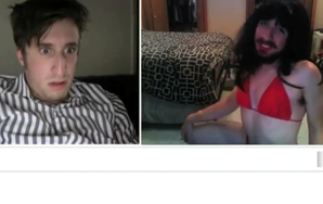 "Man In Bikini Lip Synching ""Call Me Maybe"" Trolls Chatroulette Users"