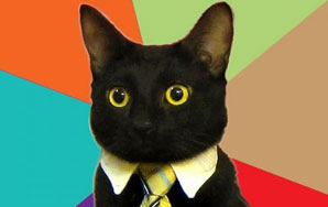 Monologue Of A Cat Wearing A Business Suit