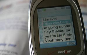 On Language, Texting, &Being