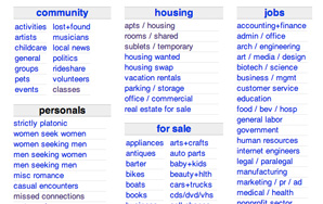 The 5 Jobs To Avoid on Craigslist