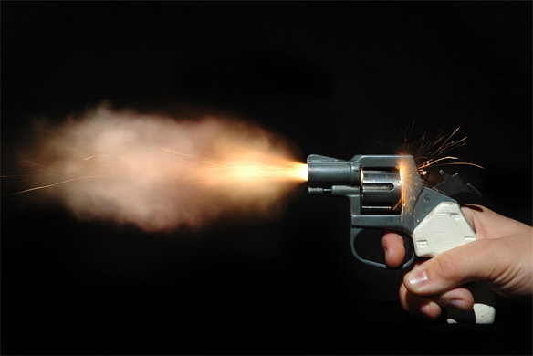 What It Feels Like To Get Shot By A Gun