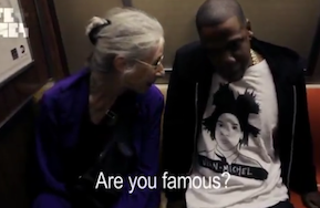 Adorable Woman On Subway Meets Jay-Z, Has No Idea Who He Is