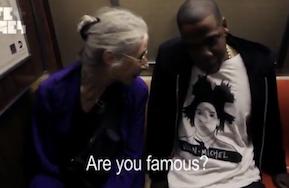 Adorable Woman On Subway Meets Jay-Z, Has No Idea Who HeIs
