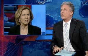 Watch Jon Stewart Make Fun Of Women In MilitaryOpponents