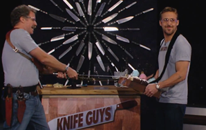 Watch Will Ferrell And Ryan Gosling Have Fun WithKnives