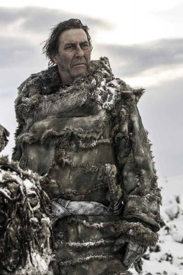 THE KING BEYOND THE WALL, as portrayed by Ciaran Hinds. Photo credit: Helen Sloan, HBO.