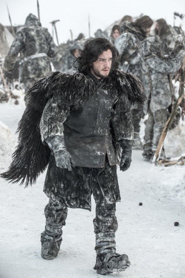 JON SNOW. Photo credit: Helen Sloan/ HBO.