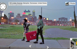 Awesome Movies, Seen Through Google Street View