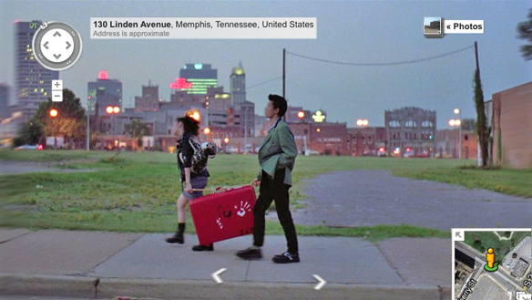 Awesome Movies Seen Through Google Street View