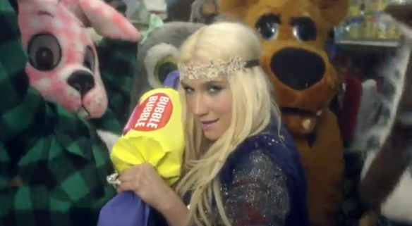 Watch New Ke$ha Video (Includes Furries, Giant Toothbrush)