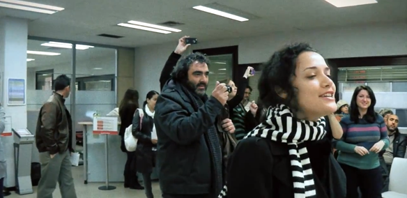 "Watch Heartwarming Video Of ""Here Comes The Sun"" Flashmob At Madrid Unemployment Office"