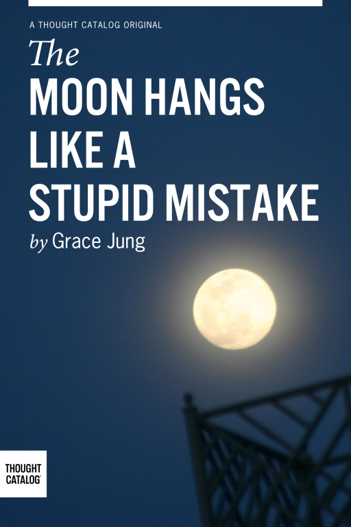 The Moon Hangs Like A Stupid Mistake