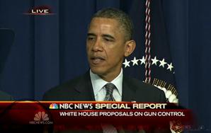 Obama Announces Plan To Curb GunViolence