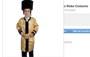 Ever Wanted To Dress Up Like A Jew?