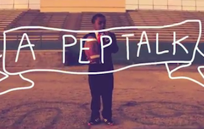 And Now Here's A Video Pep Talk From An Adorable Child In ASuit