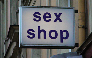 Finding Oneself In A Sex Shop