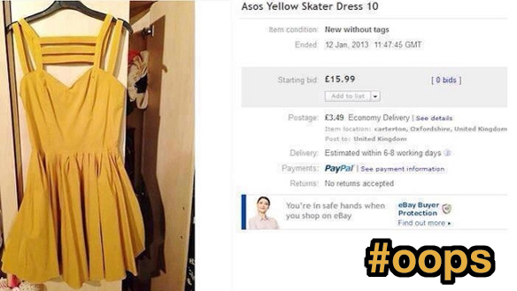 Woman Accidentally Includes Nude Photo In eBay Listing, Listing Goes Viral