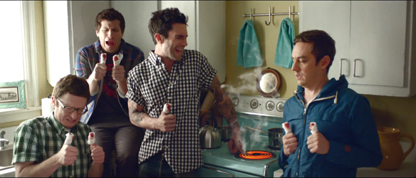 """Watch Hilarious Lonely Island Video, """"YOLO,"""" With Adam Levine And Kendrick Lamar"""