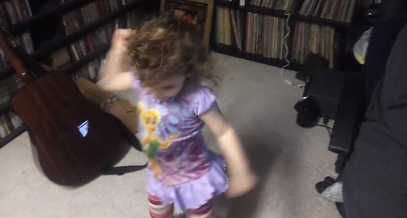 Watch Little Girl Rock Out While Listening To Bad Brains For The First Time