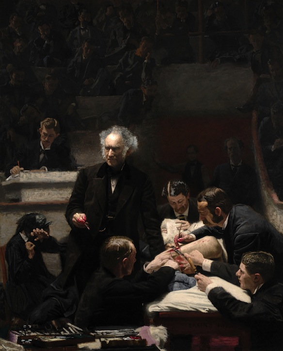 The Clinic of Dr. Gross (1875)
