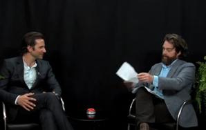 Bradley Cooper Joins Zach Galifianakis On 'Between Two Ferns'