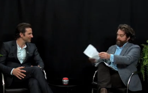 Bradley Cooper Joins Zach Galifianakis On 'Between Two Ferns'
