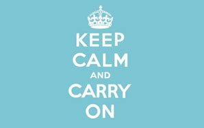 'Keep Calm And Carry On' Is A Big Steaming Pile Of Crap